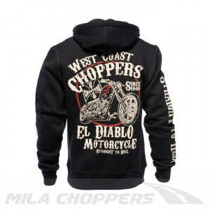 Bluza z kapturem West Coast Choppers