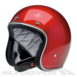 Kask Biltwell Bonanza Metallic Candy Red
